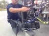 Safety check , Panasonic AG3D A1 3D camera rig