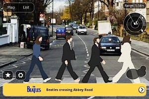 Layar - Abbey Rd augmented (image credit: Engadget)
