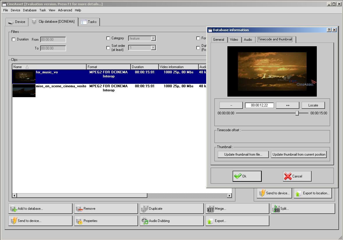doremi cineasset software