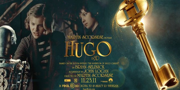 Hugo deep staging and camera key framing in stereoscopic 3D