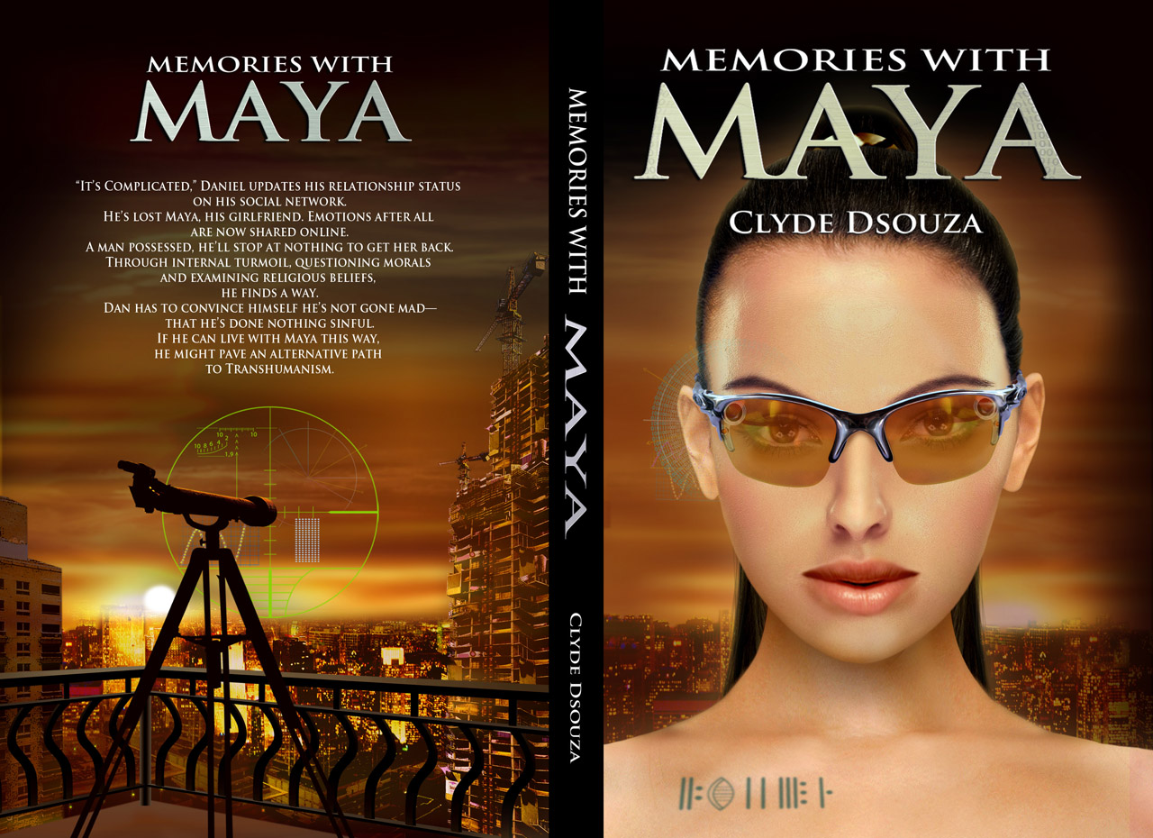 memories with maya book cover
