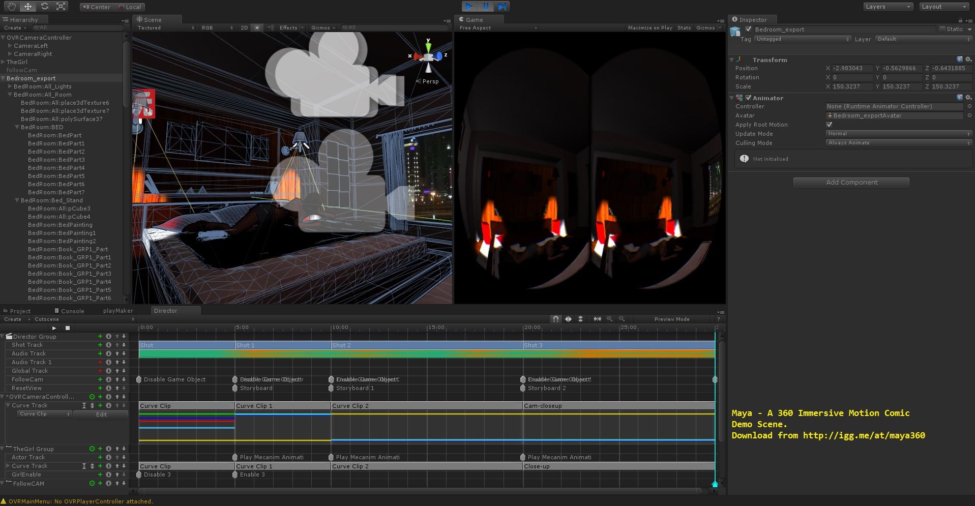 Maya_360_immersive_VR_timeline_editor